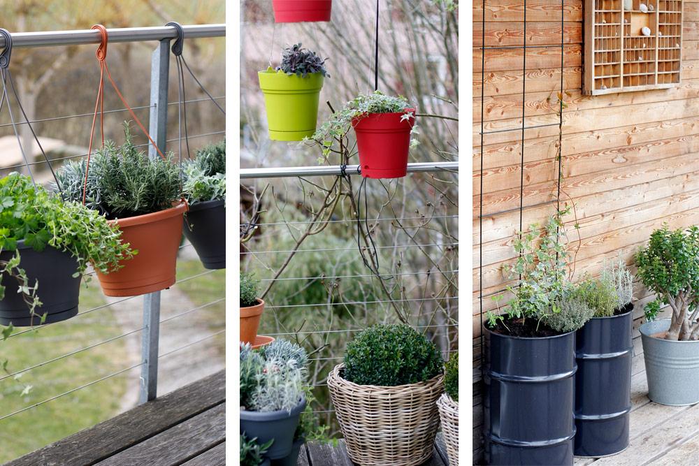 Platzsparende Ideen Fur Einen Krautergarten Auf Dem Balkon