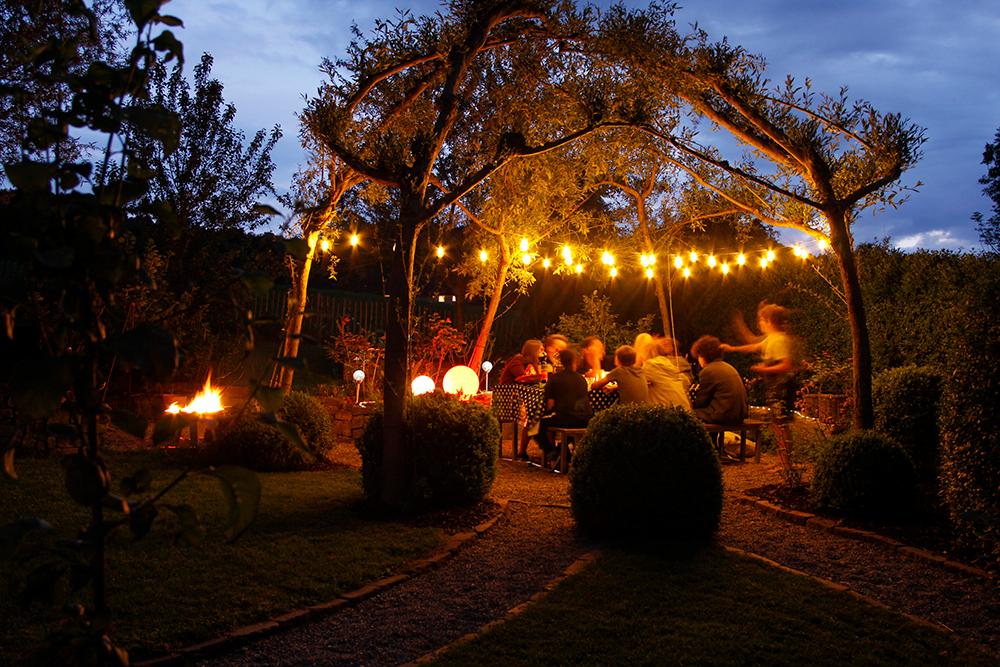 Lampade solari per un incantevole party estivo do it garden
