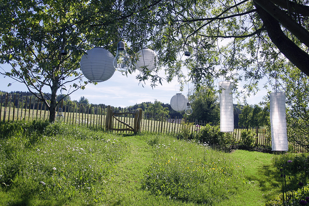 Lampade solari per un incantevole party estivo do it garden blog