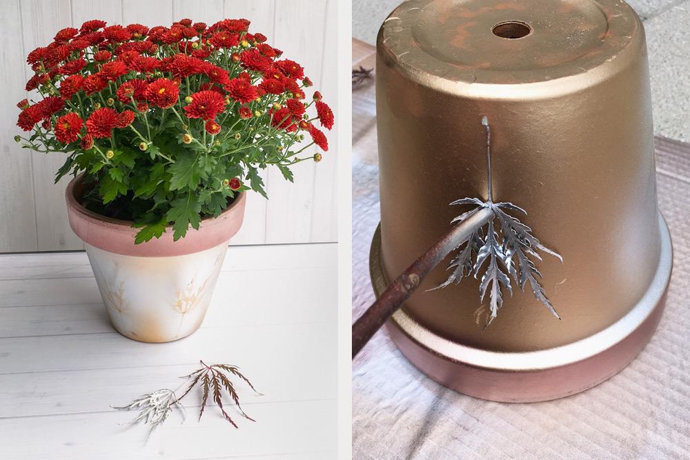 Mit Wenig Aufwand Herbstliche Blumentopfe Gestalten