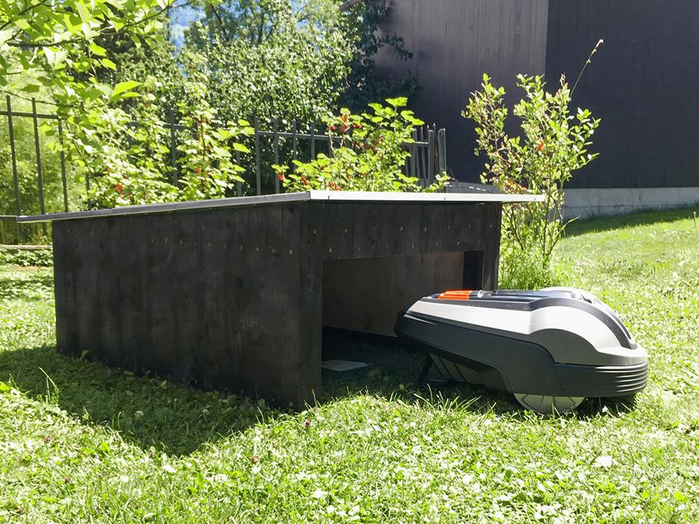 Garage pour Robot Tondeuse Bois Automower Abri en Bois