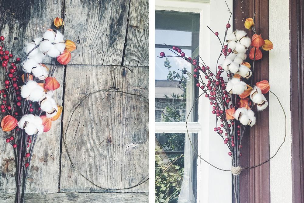 Decorazione Finestre Autunno : Dare il benvenuto all autunno con decorazioni e fiori suggestivi