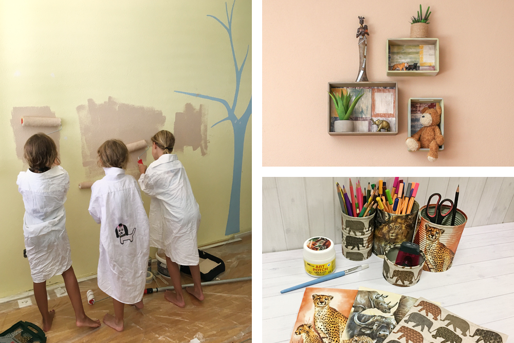 upcycling und deko ideen f r ein altersgerechtes kinderzimmer. Black Bedroom Furniture Sets. Home Design Ideas