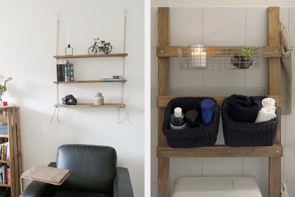 Wohnzimmer Regal Ideen ~ Zwei einfache regalideen hingucker die ordnung schaffen