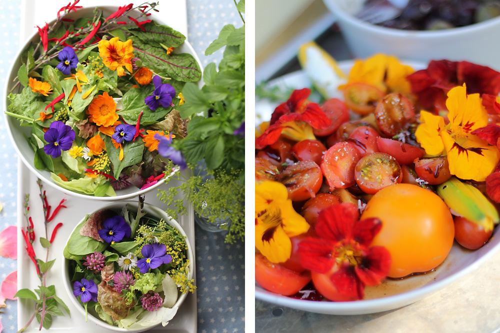 Fleurs comestibles: une explosion de couleurs et de saveurs