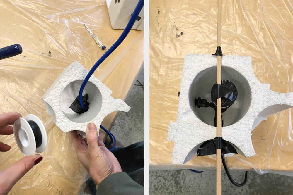 Lampada In Cemento Fai Da Te : Lampada in cemento fai da te per gli individualisti