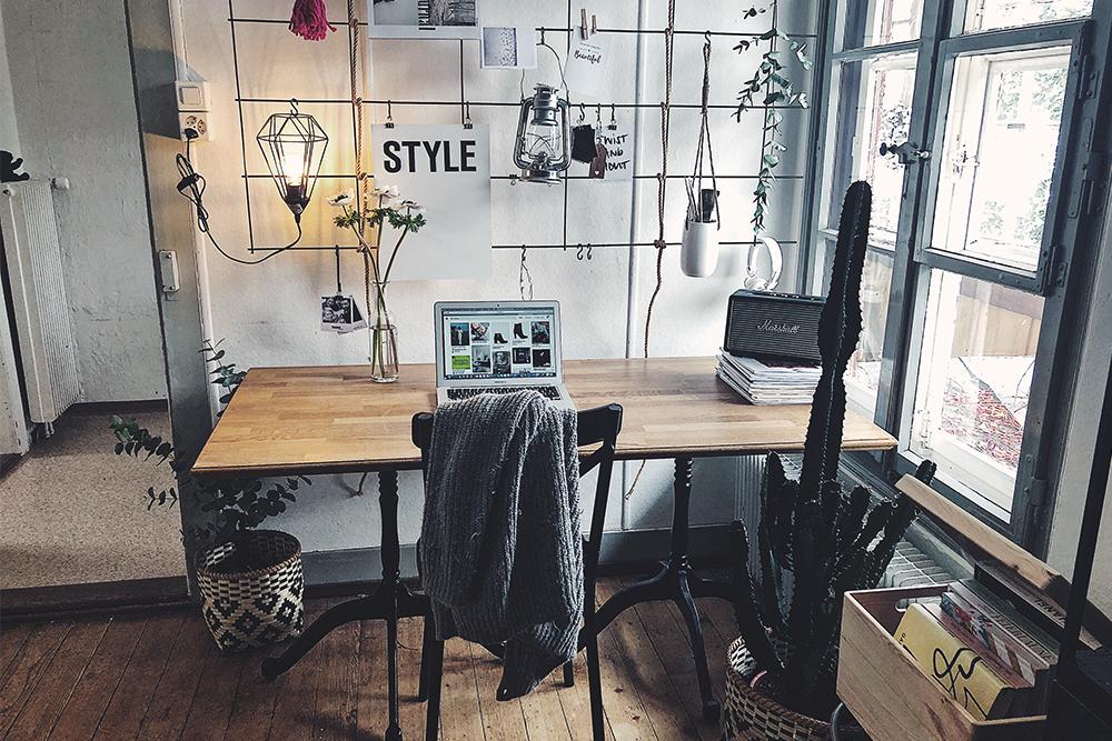 industrial design als diy einrichtungsstil f rs office. Black Bedroom Furniture Sets. Home Design Ideas